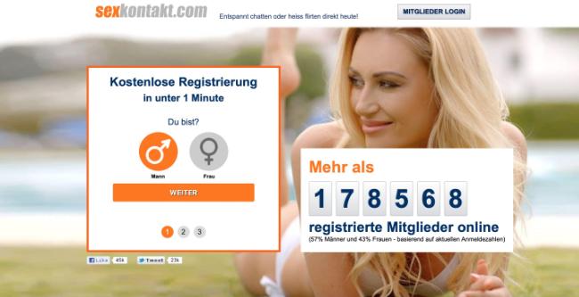 Sexkontakt.com schnelle Sexdates
